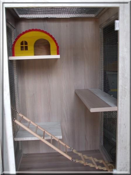 Cage de Kimo chez Corinne en Moselle (57)